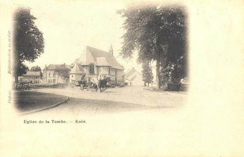 KAIN - chapelle de la Tombe - GPS • Nord : 50 37 42 • Est : 3 23 26