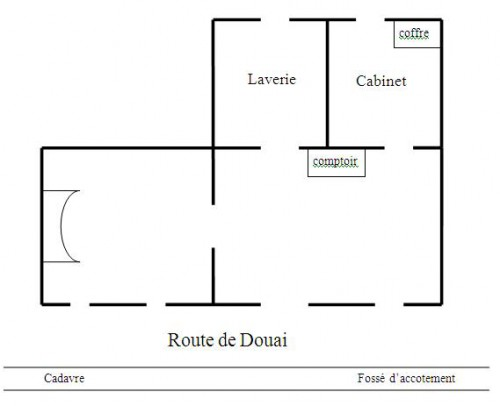 Plan de la maison Maertens