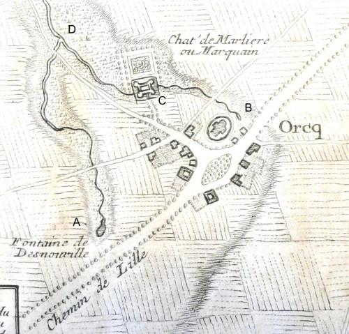 carte de l'Institut Géographique National
