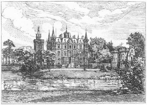 Une petite gravure[8] (Figure ci-dessus)non signée de 6cm sur 5 environ, postérieure à la construction de cette tour a été réalisée par l'artiste douaisien Alfred Robaut.