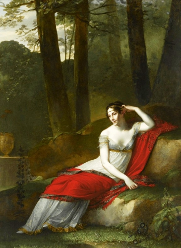 Le portrait de l'impératrice Joséphine
