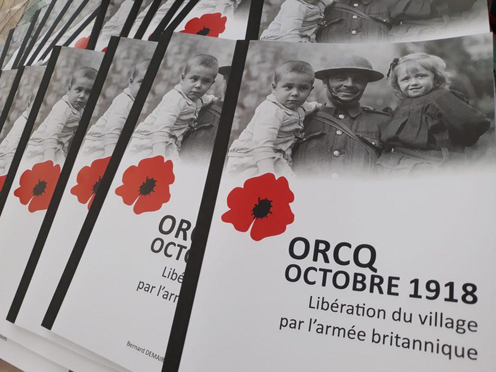 Livret commémoration Orcq 14 18
