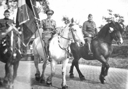 Louis Trifin, Pierre Goeminne et Victor Hovine